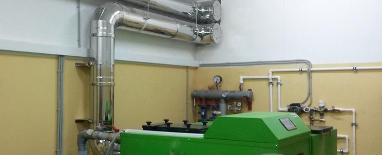 дымоход для газового водонагревателя в частном доме