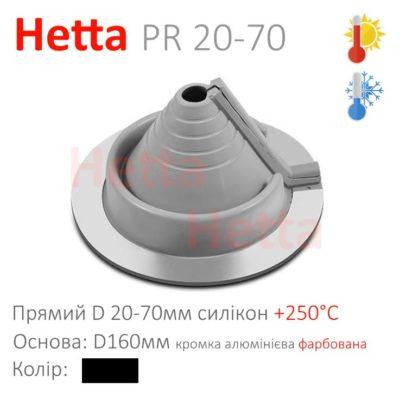 Кровельная проходка из силикона для труб Hetta PR 20-70
