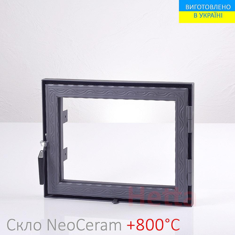 каминная-дверца-со-стеклом-390-490