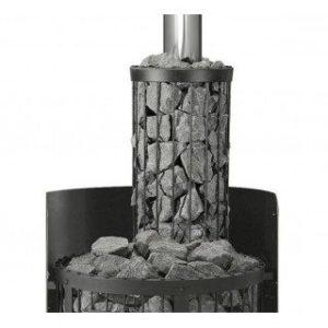сетка для камней на трубе в бане